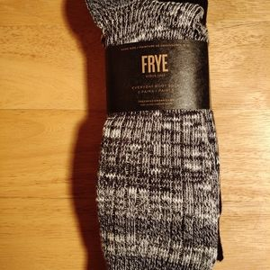 NEW MENS FRYE SOCKS 1 PACK = 2 PAIR